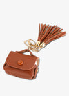 Brown Tassel Keychain AirPod Case