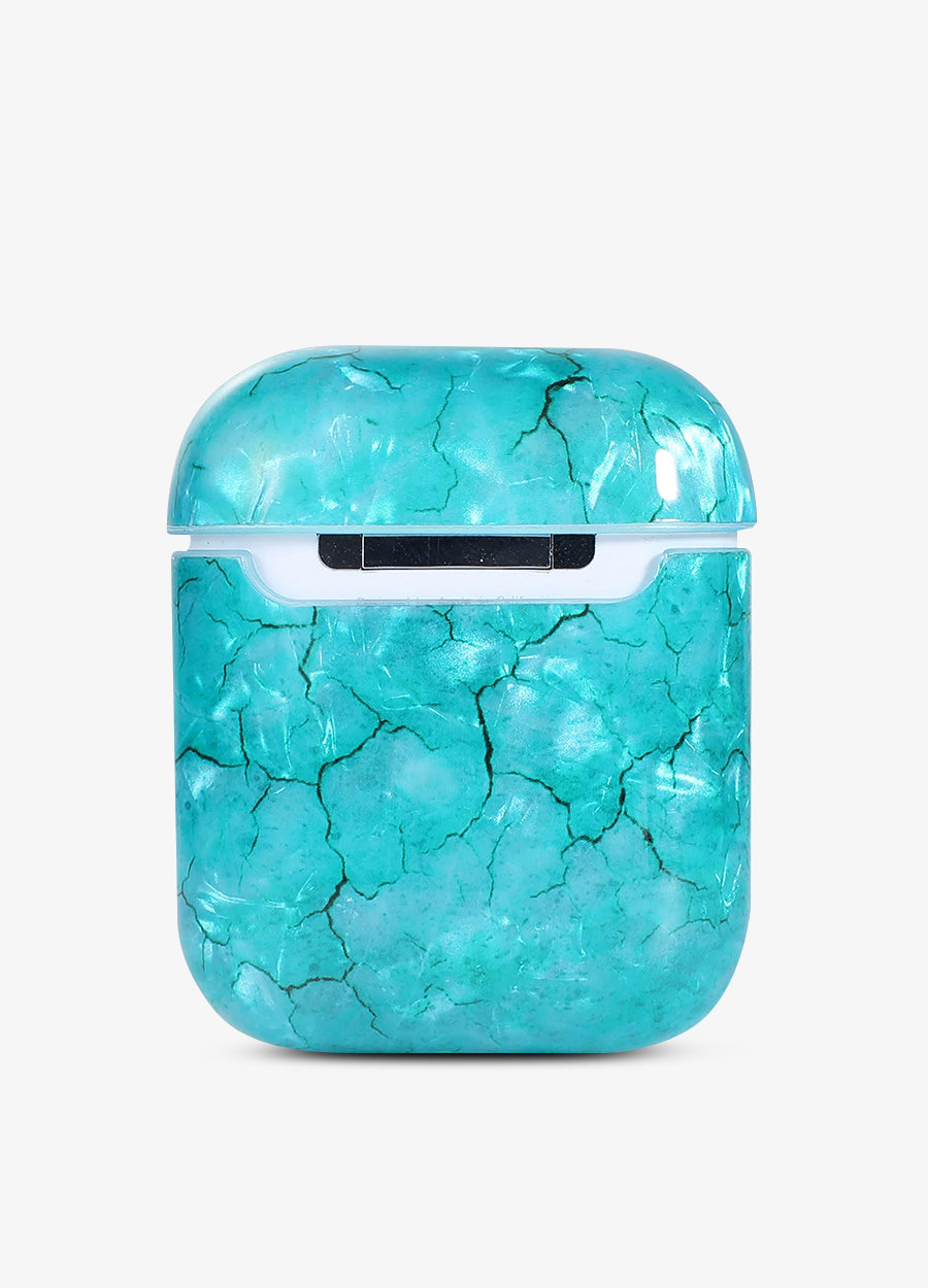 Blue Crystal AirPod Case