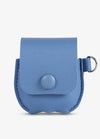 Blue Leather AirPod Case