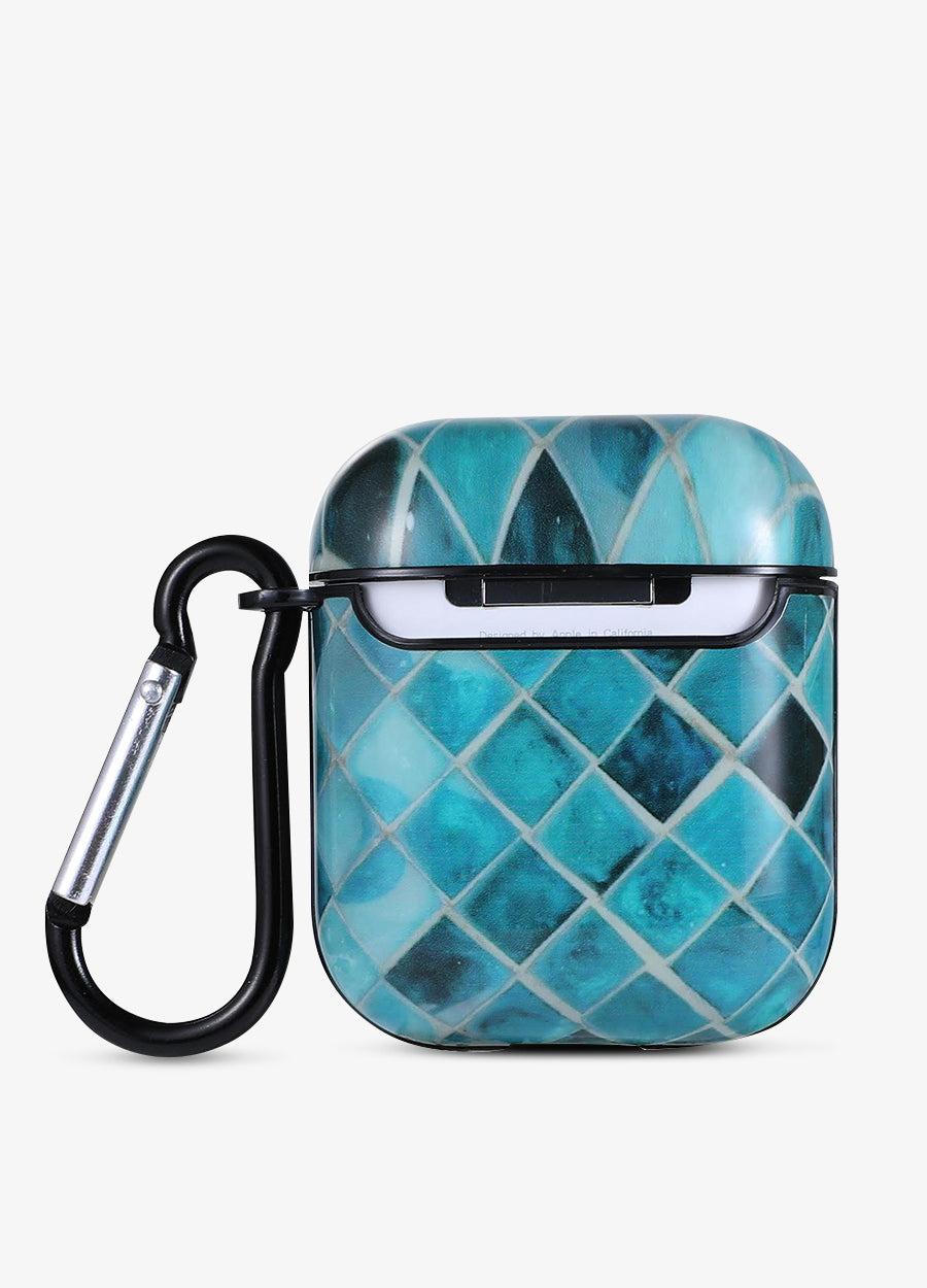 Teal Tile AirPod Case