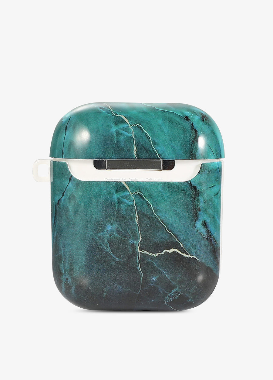 Emerald Marble AirPod Case