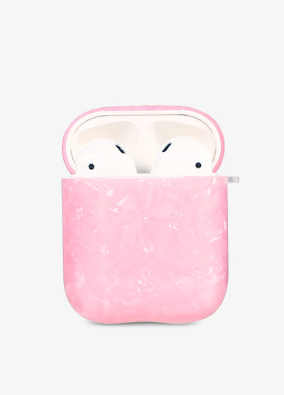 Pink Seashell AirPod Case
