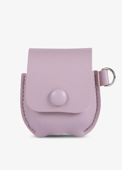 Pink Leather AirPod Case