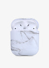 White Marble AirPod Case