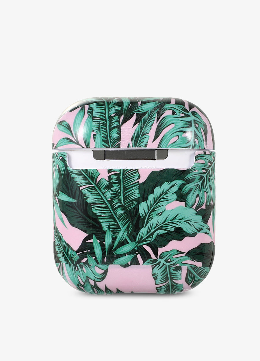Palms in Pink AirPod Case