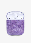 Purple Crystal AirPod Case