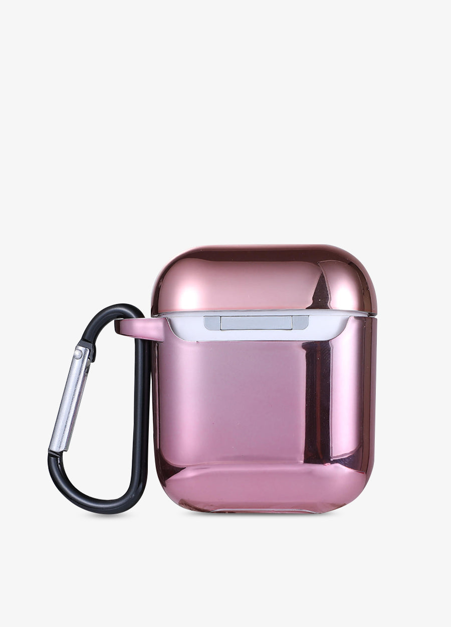 Rose Gold Metallic AirPod Case