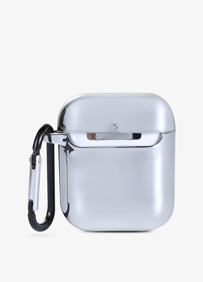 Silver Metallic AirPod Case