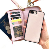 Ultimate Wristlet Phone Case in Baby Pink