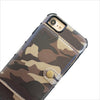 Camo Wallet Phone Case in Black