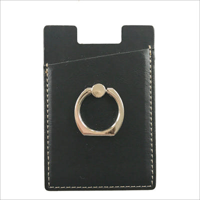 Black Card Grip Ring