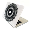 Black Mandala Macbook Protective Case