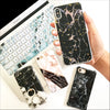 Black Marble Gold Flakes Phone Case