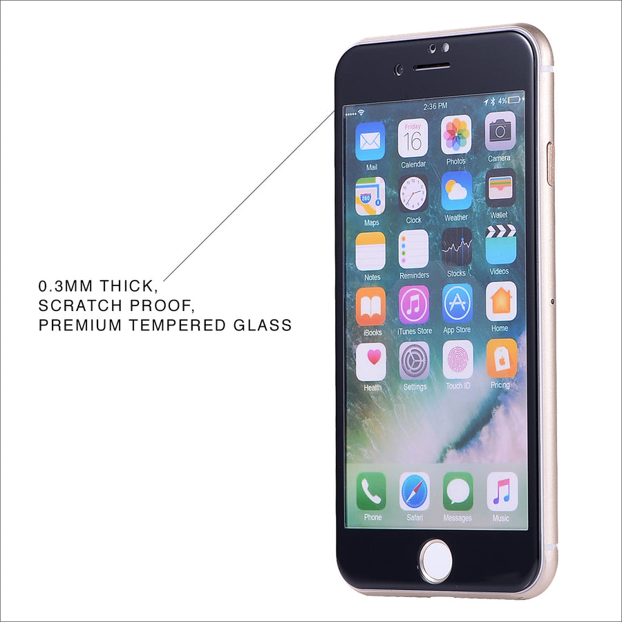 Black Glass Screen Protector