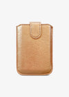 Extensive Card Pocket in Rose Gold