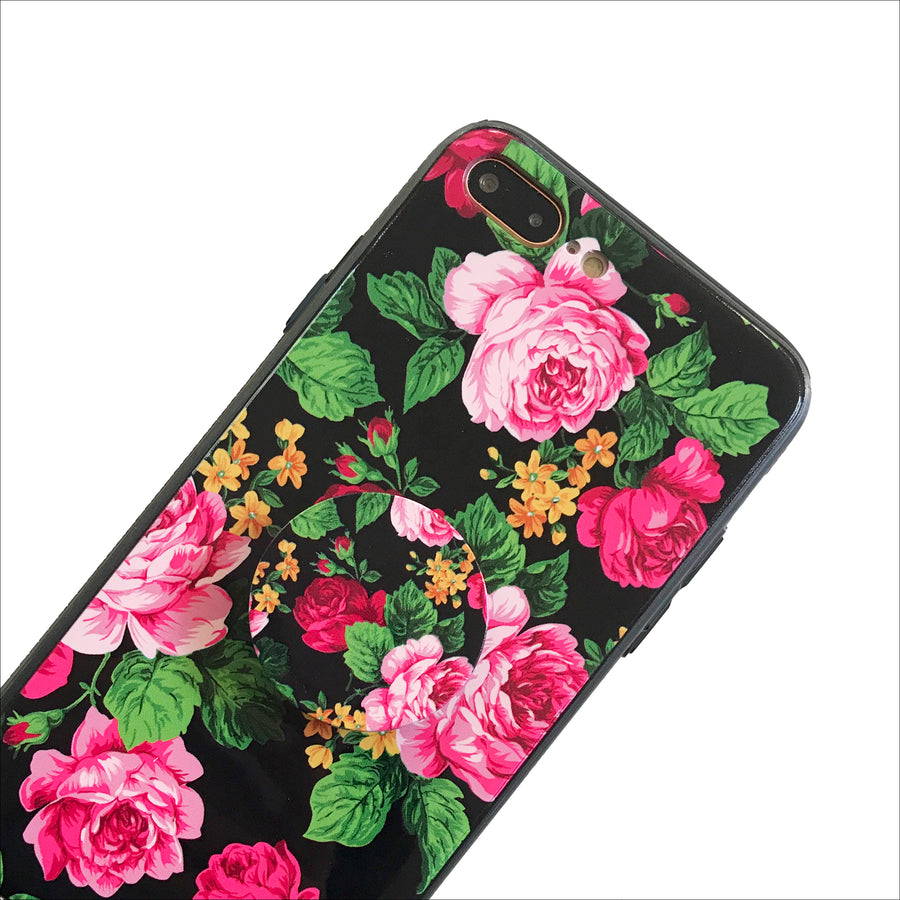 Classic Peonies Protective Grip Set