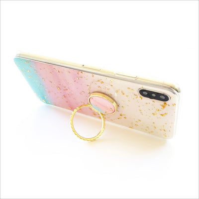 Cotton Candy Golden Grip Ring Case