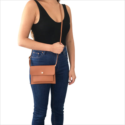 Smartphone Crossbody Bag in Desert