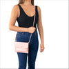 Smartphone Crossbody Bag in Soft Pink