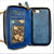 Crossbody Wallet Case in Midnight Blue