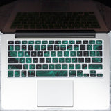 Macbook Keyboard Cover - Dark Feather