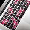 Macbook Keyboard Cover - Dark Floral