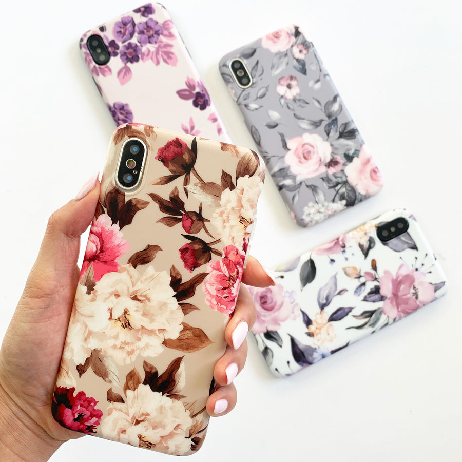 Golden Hour Floral Phone Case