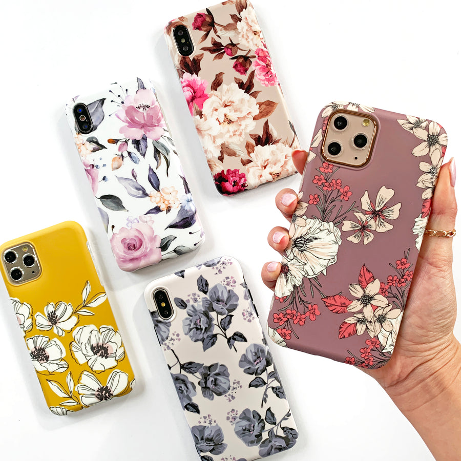 Floral Sunset Phone Case