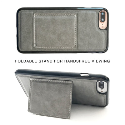 Essential Clutch Wallet Case in Graphite