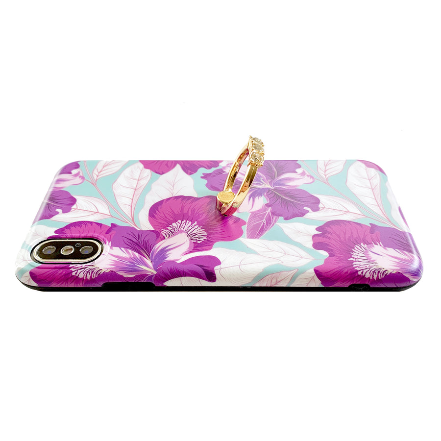 Purple Orchid Glam Ring Case