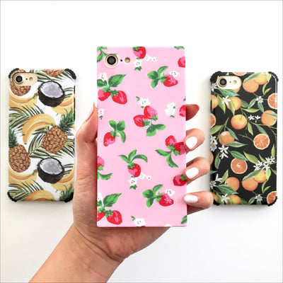 Sweet Strawberry Box Phone Case