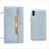 Glam Sky Glitter Wallet Phone Case