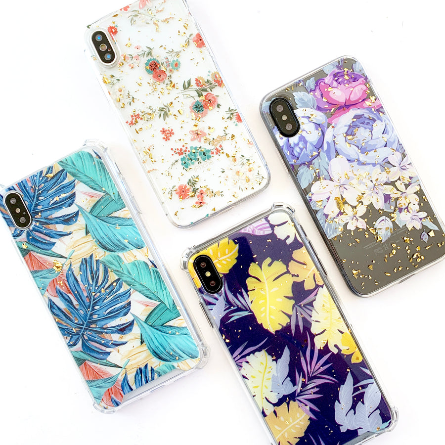 Warm Tropical Gold Flakes Phone Case