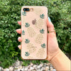 Gold Glitter Pineapple Phone Case