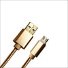 micro USB Cable - Gold
