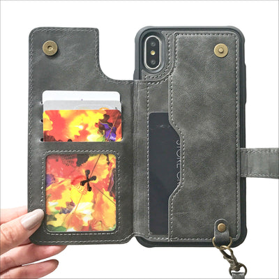 Graphite Card Wallet Phone Case