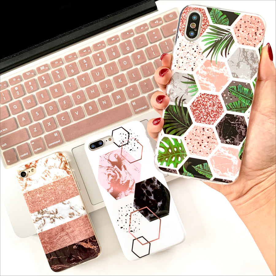 Hexa-Palm Phone Case