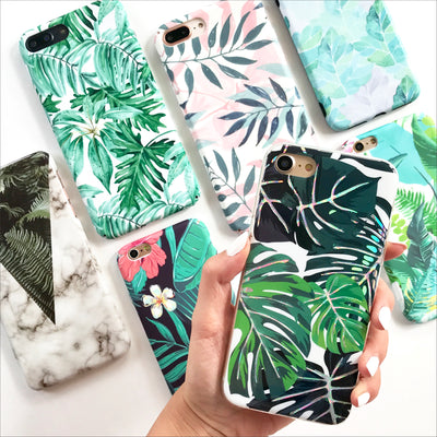 Holo Monstera Phone Case