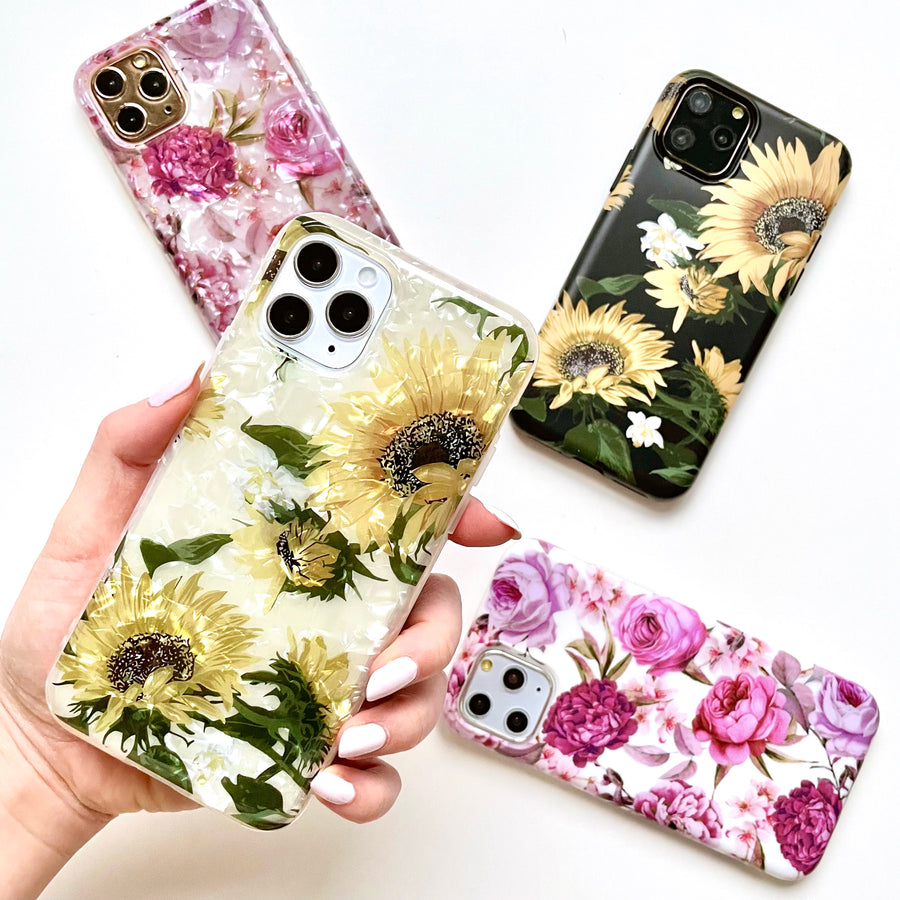 Sunflower Iridescent Phone Case
