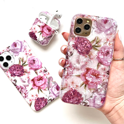 Pink Romance Iridescent Phone Case