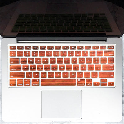 Macbook Keyboard Cover - Wood