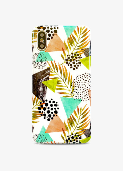 Abstract Palms Phone Case