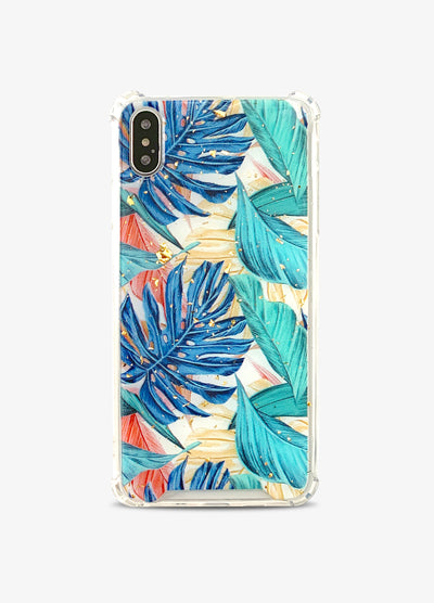 Tropical Gold Flakes Phone Case
