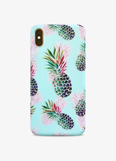 Baby Blue Pineapple Phone Case