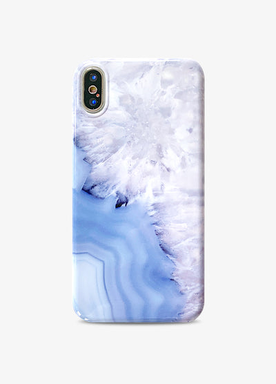 Blue Agate Marble Phone Case