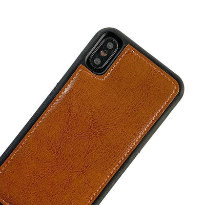Ultimate Wristlet Phone Case in Brown