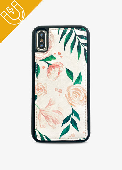 Magnetic Phone Case in Floral Blooms