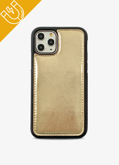 Magnetic Phone Case in Gold