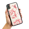 Magnetic Phone Case in Watercolor Peonies