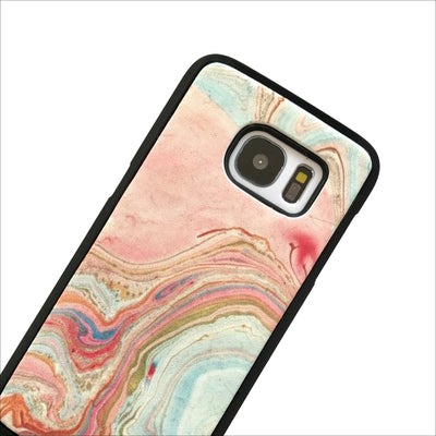 Magnetic Phone Case in Pastel Marble